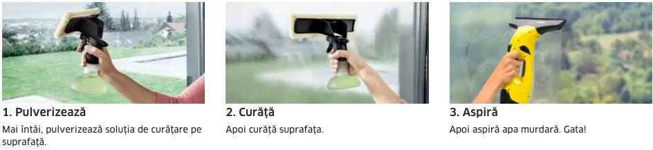 aparate de curatat geamuri